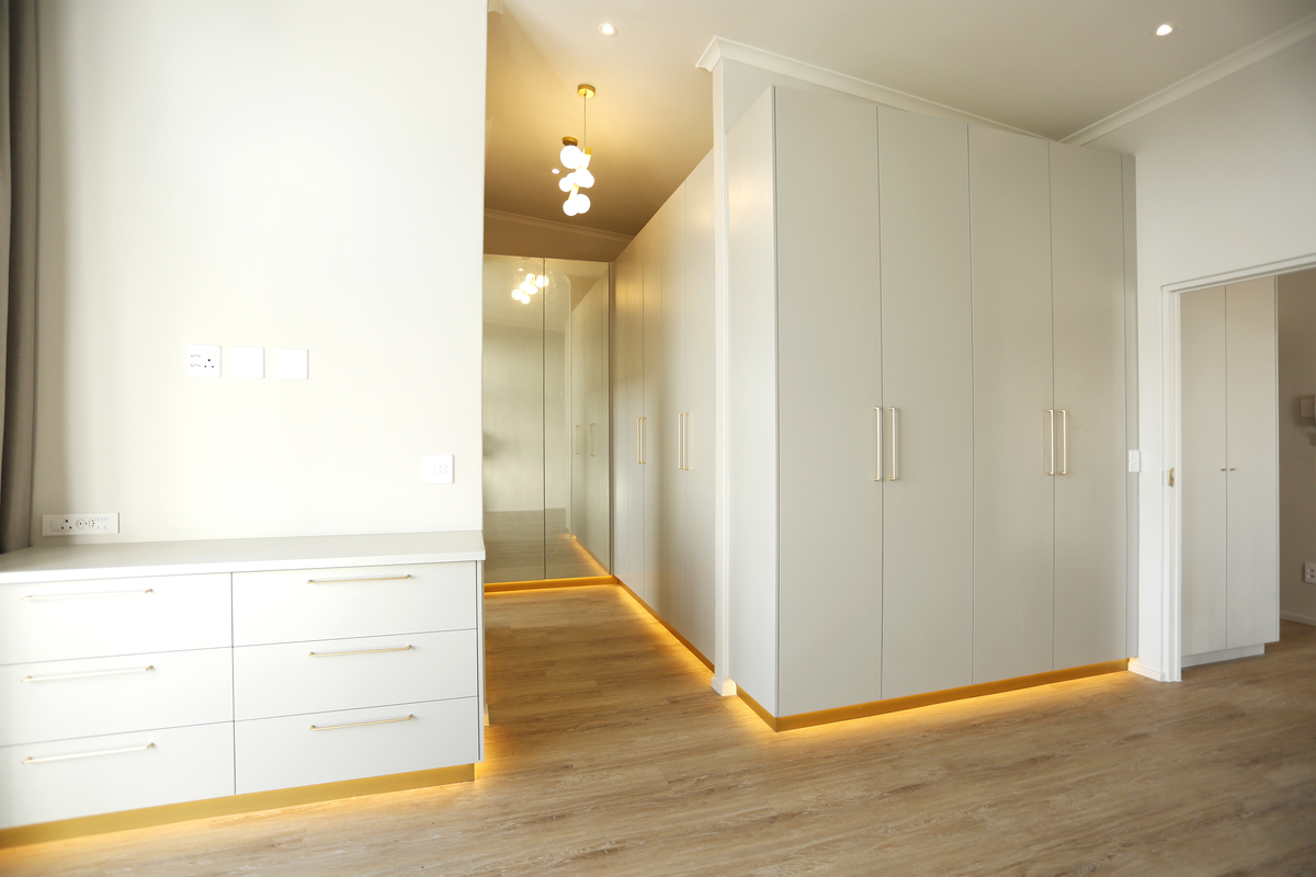 Bedroom cupboards led lighting